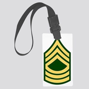 Army-MSG-Green Large Luggage Tag
