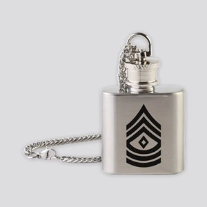 Army-1SG-Subdued Flask Necklace