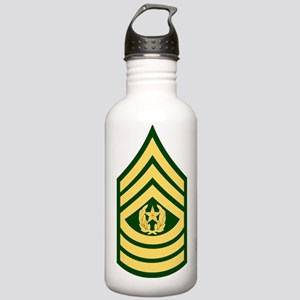 Army-CSM-Green Stainless Water Bottle 1.0L