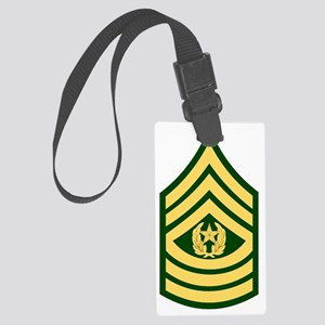 Army-CSM-Green Large Luggage Tag