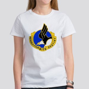 Army-101st-Airborne-Div-DUI-Bonnie Women's T-Shirt