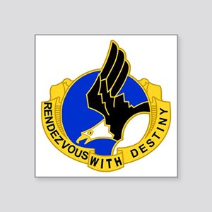 "Army-101st-Airborne-Div-DUI Square Sticker 3"" x 3"""