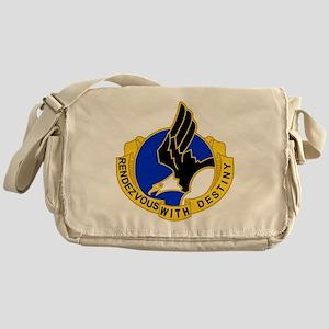 Army-101st-Airborne-Div-DUI-Bonnie Messenger Bag
