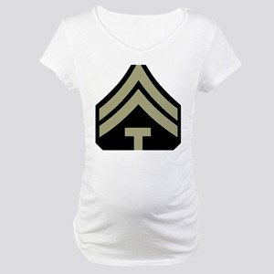 Army-WWII-T5-Four-Inches Maternity T-Shirt