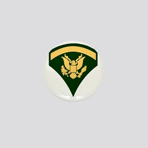 Army-SP5-Green-Four-Inches Mini Button