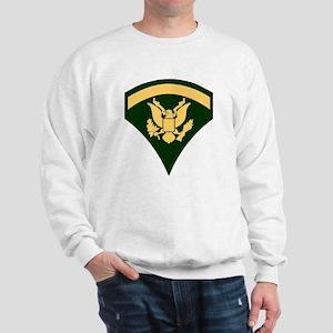 Army-SP5-Green-Four-Inches Sweatshirt