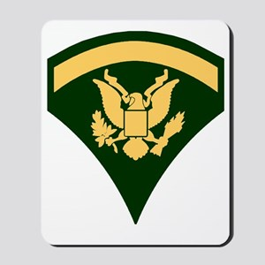 Army-SP5-Green-Four-Inches Mousepad