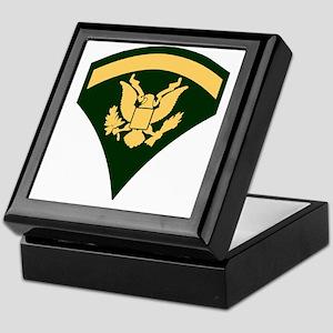 Army-SP5-Green-Four-Inches Keepsake Box