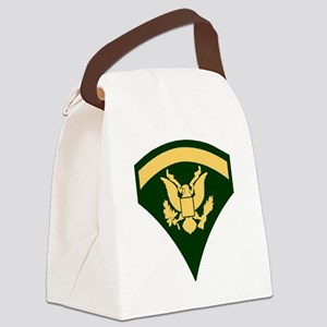 Army-SP5-Green-Four-Inches Canvas Lunch Bag