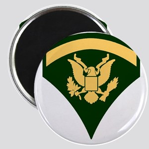 Army-SP5-Green-Four-Inches Magnet