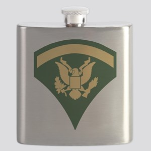 Army-SP5-Green-Four-Inches Flask