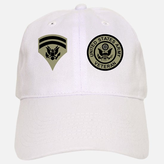 Army-SP6-Mug-Veteran Baseball Baseball Cap