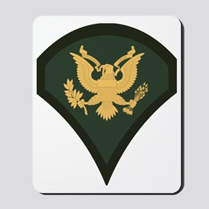 3-Army-SP4-Green-Four-Inches Mousepad
