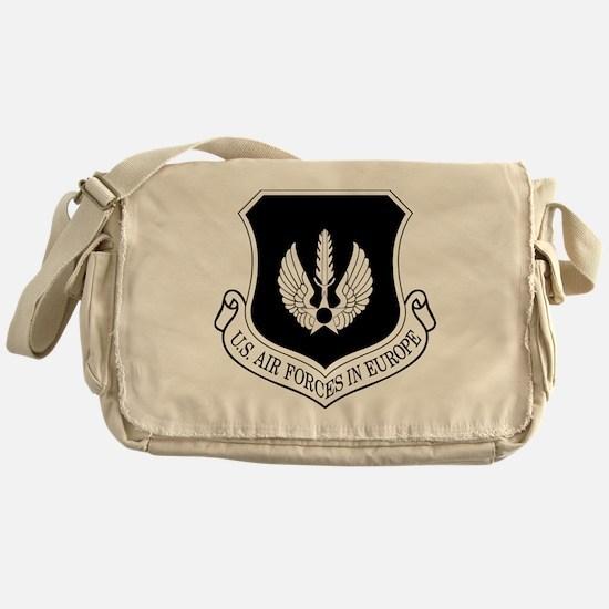 USAF-USAFE-Shield-BW-Bonnie Messenger Bag