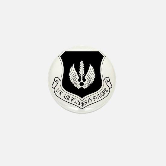 USAF-USAFE-Shield-BW-Bonnie Mini Button