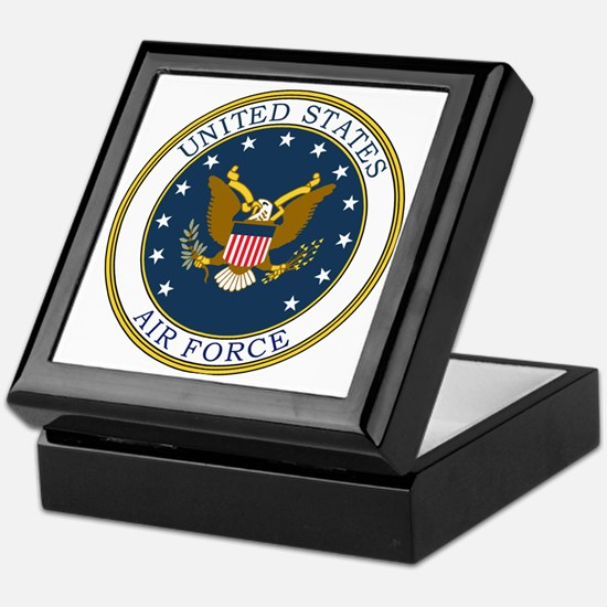 USAF-Patch-3 Keepsake Box