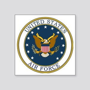 "USAF-Patch-3 Square Sticker 3"" x 3"""