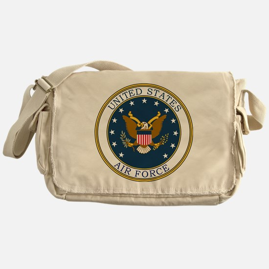 USAF-Patch-3 Messenger Bag