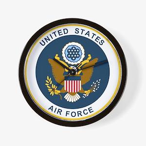 USAF-Patch-2 Wall Clock