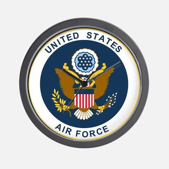USAF-Patch-2 Wall Clock