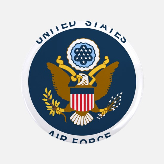 """USAF-Patch-2 3.5"""" Button"""