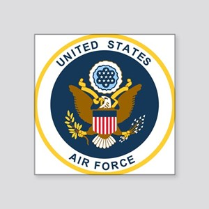 "USAF-Patch-2 Square Sticker 3"" x 3"""