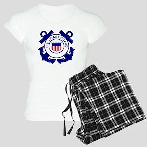 USCG-Logo-Without-Date Women's Light Pajamas