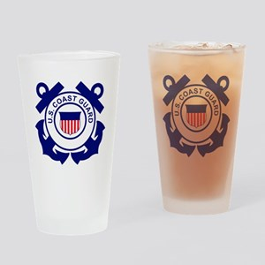 USCG-Logo-Without-Date Drinking Glass