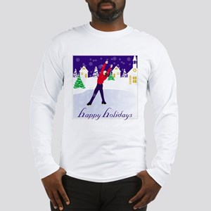 Holiday Skating Long Sleeve T-Shirt
