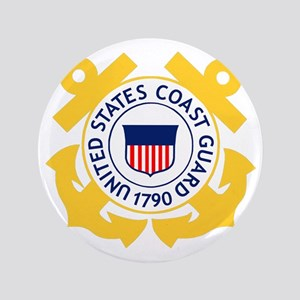 "USCG-Emblem 3.5"" Button"