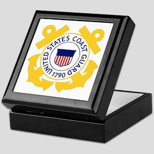 USCG-Emblem Keepsake Box