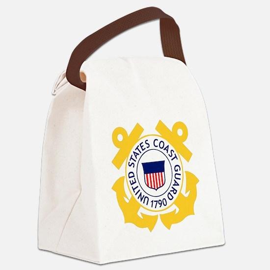 USCG-Emblem Canvas Lunch Bag