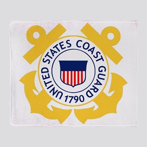 USCG-Emblem Throw Blanket