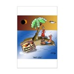 Eclipse Cartoon 9523 Mini Poster Print
