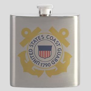USCG-Emblem Flask