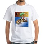 Eclipse Cartoon 9523 White T-Shirt