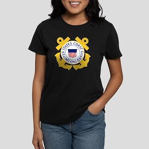 USCG-Emblem Women's Dark T-Shirt
