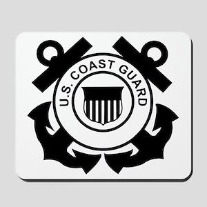 USCG-Logo-Without-Date-Black Mousepad