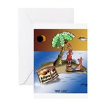 Eclipse Cartoon 9523 Greeting Card