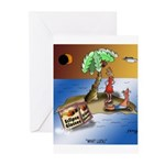 Eclipse Cartoon 9523 Greeting Cards (Pk of 20)