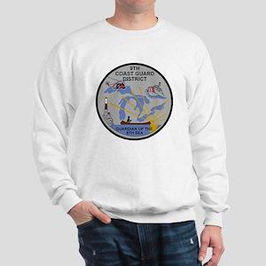 USCG-9th-CGD-Patch-Dark Sweatshirt
