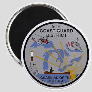 USCG-9th-CGD-Patch-Dark Magnet