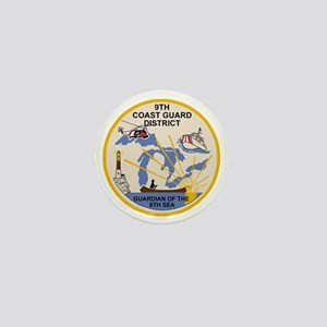 USCG-9th-CGD-Patch Mini Button