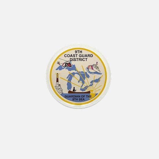USCG-9th-CGD-Patch Mini Button