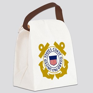 USCG-Emblem Canvas Lunch Bag