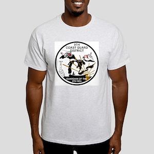 USCG-9th-CGD-Patch-Black-White Light T-Shirt