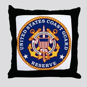 USCGR-Logo Throw Pillow