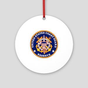USCGR-Logo Round Ornament