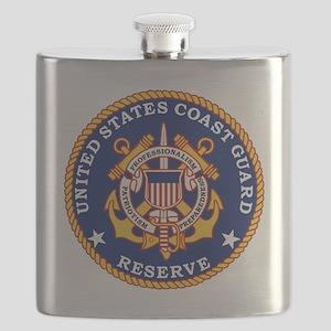 USCGR-Logo Flask