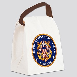 USCGR-Logo Canvas Lunch Bag